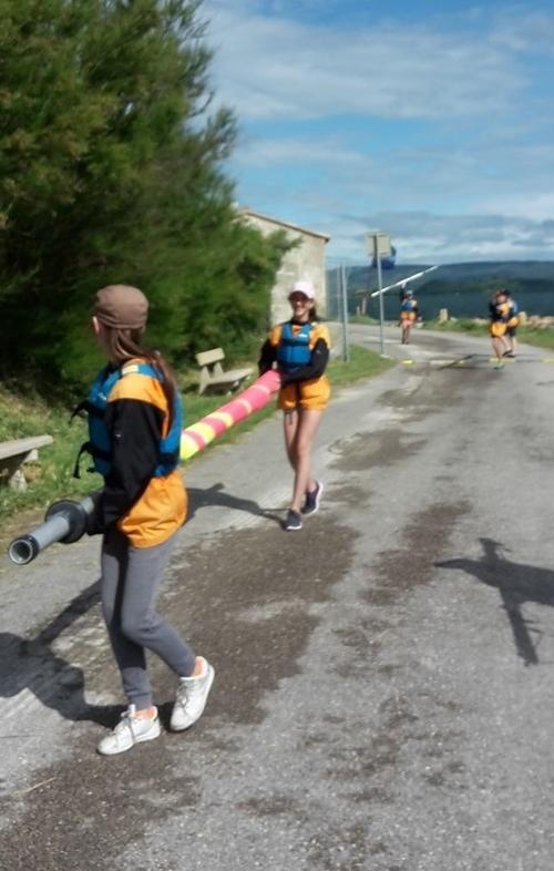 Sortie voile à Port-Mahon: partie 1: le voyage jusqu'à l'île de la Nadière
