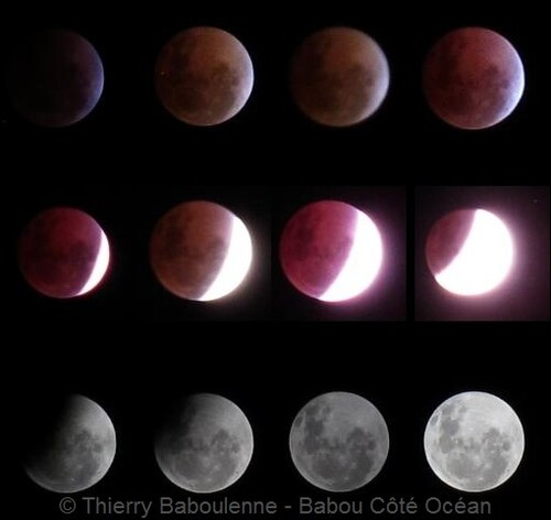 Eclipse lunaire totale le 15 avril 2014