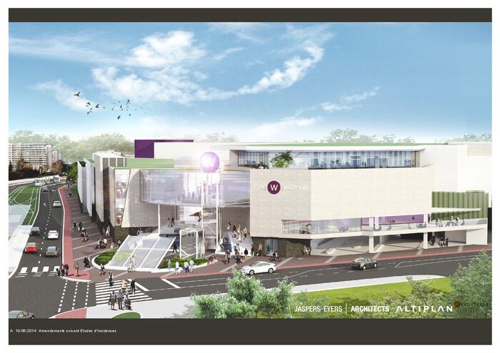 Wolu1200 : Enquête publique pour l'extension du Shopping de Woluwe