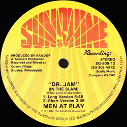 Men At Play - Dr. Jam (In The Slam)