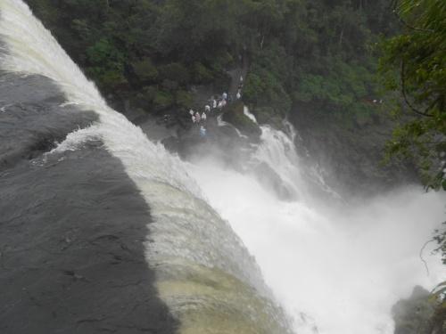 Les chutes d' Iguazu