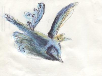 - L'oiseau bleu de Frédéric -