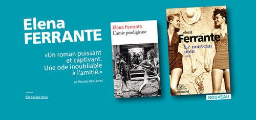 C'est au lecteur d'allumer la mêche des mots - Elena Ferrante - Books juin 2016