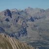 Du sommet de la Peña Sabocos (2757 m), la Collarada