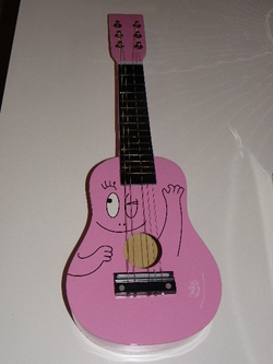 La guitare Barbapapa