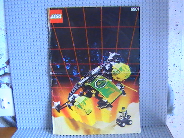 Légo Black Tron n° 6981 de 1991 - Aerial Intruder.