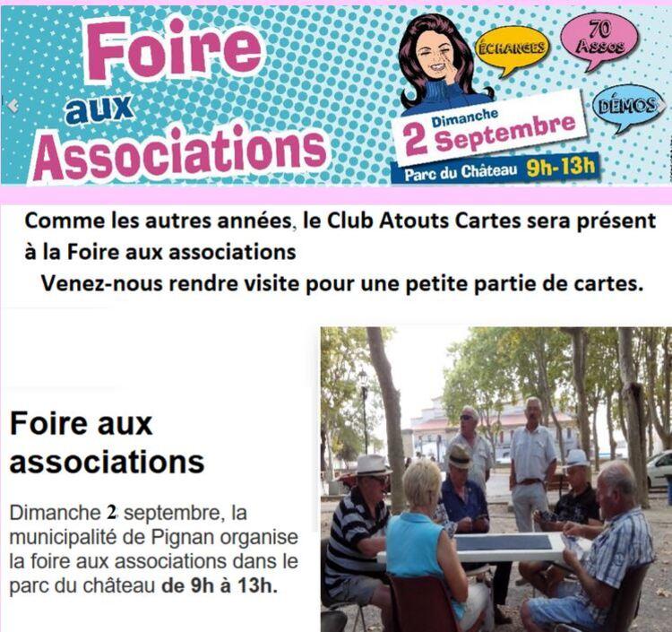 Journée des associations 2018