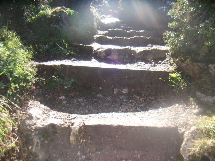 Château de Montségur - 3ème partie : la grimpette