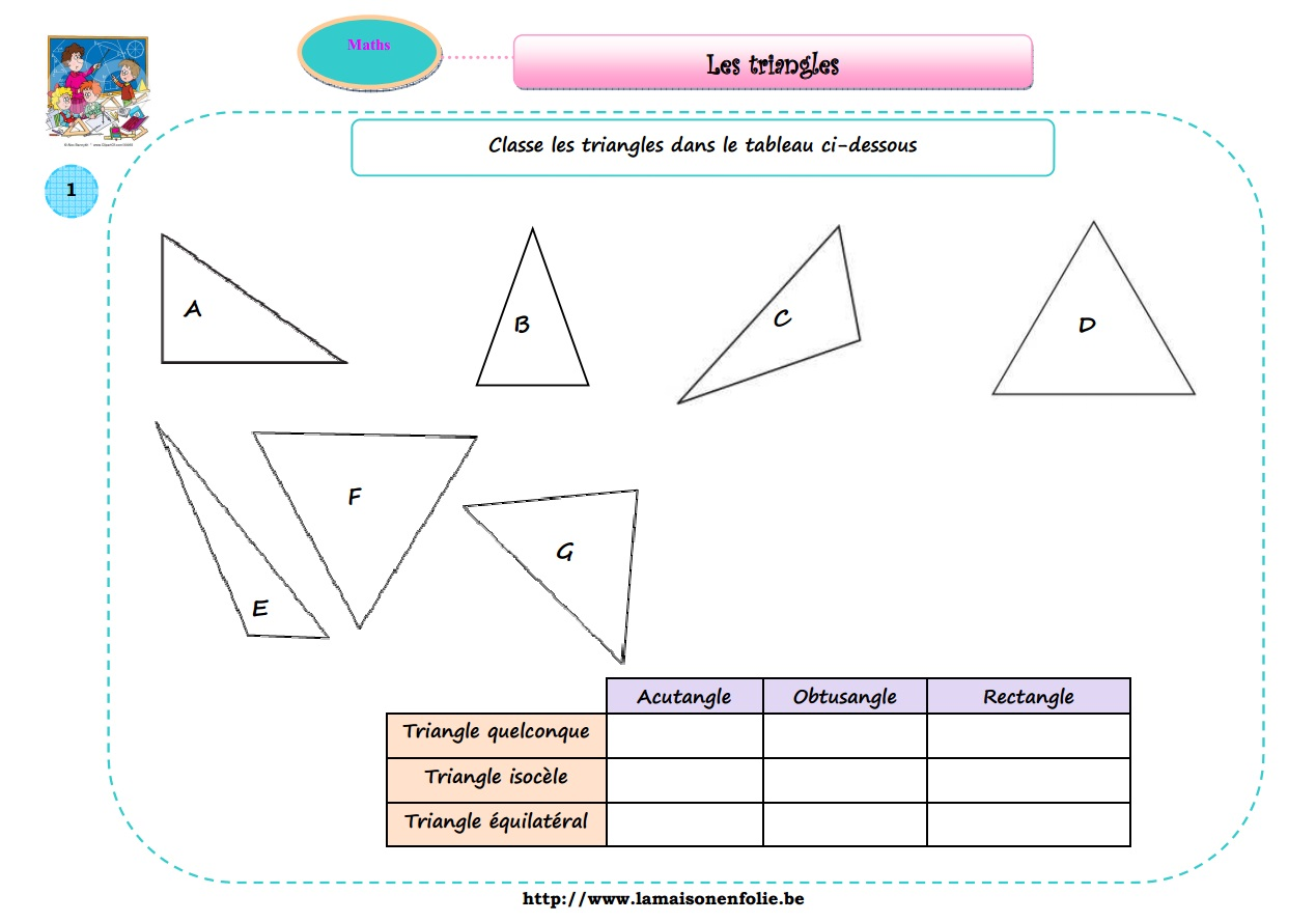 Célèbre Les triangles - La maison en folie QX24