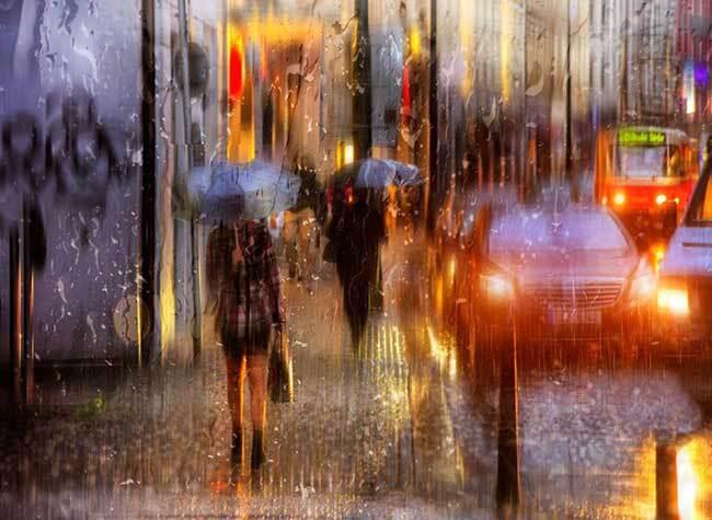 eduard gordeev photographies urbaines peinture style 3 - Ces Photos Urbaines sous la Pluie Ressemblent à des Peintures