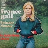 Cinq minutes d'amour Albums de France Gall Singles Frankenstein Sortie : 1972