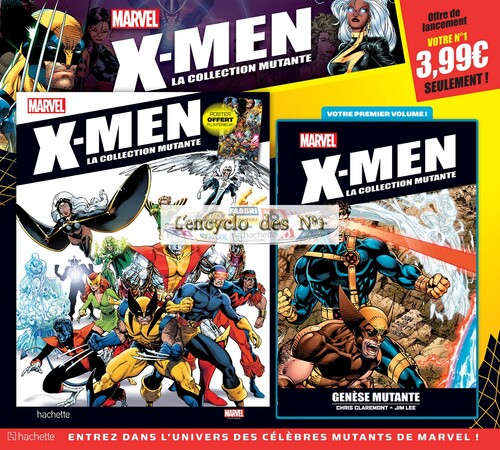 N° 1 X-Men la collection mutante - Test