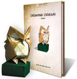 drawing origami