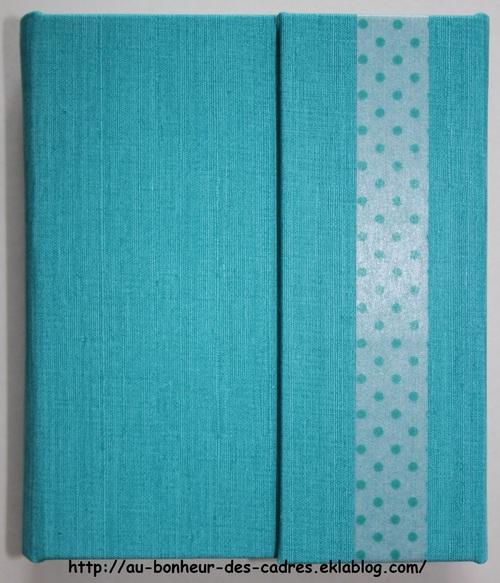 Cartonnage : petit carnet de sac
