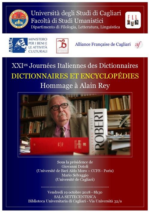 21e Journées des dictionnaires