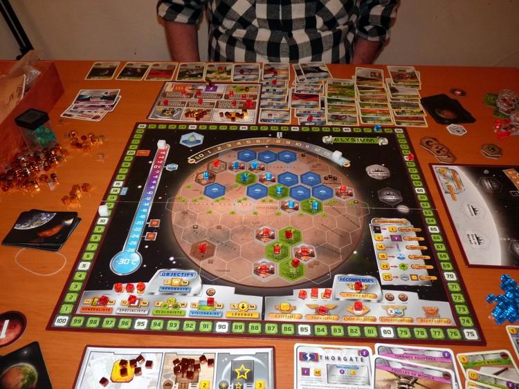 Terraforming Mars (avant décompte)