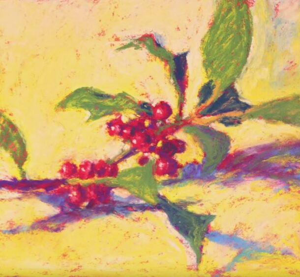 Dessin et peinture - vidéo 1521 : Peindre une nature morte avec des pastels tendres en utilisant le minimum de craies.