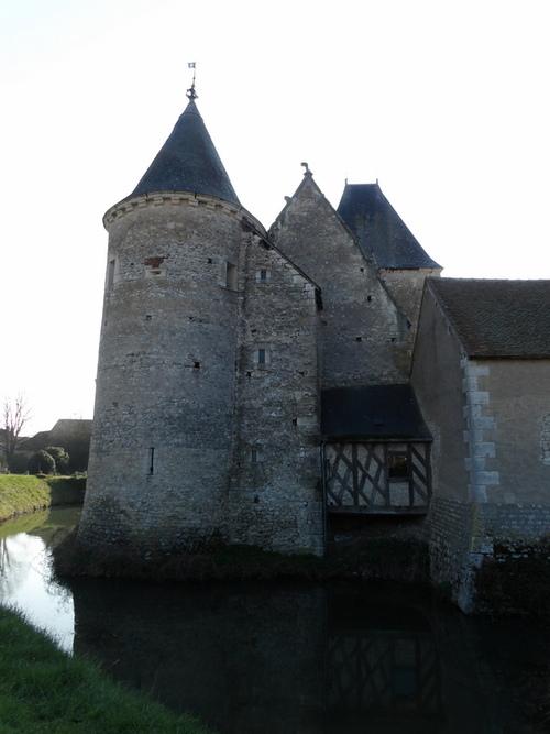 Le château de Chémery