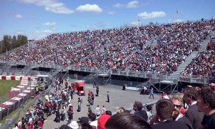 Canadian Formula One Grand Prix at Circuit Gilles Villeneuve - Day One