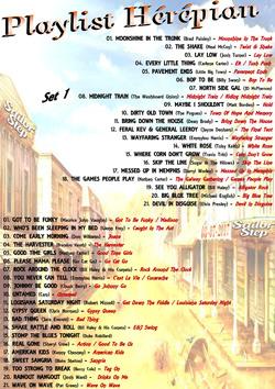 Playlist 17 h 30  samedi 8 juillet SAILOR STEP