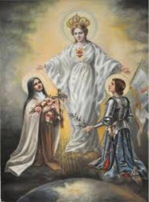 Thérèse et Jeanne d'Arc