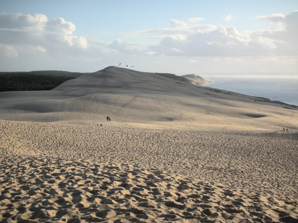 Depuis la dune du Pyla...
