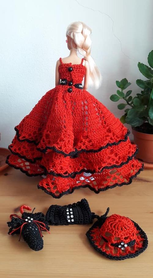 De nouveau une robe barbie