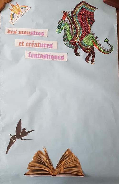 OEUVRE DE RENTREE Monstres et créatures fantastiques