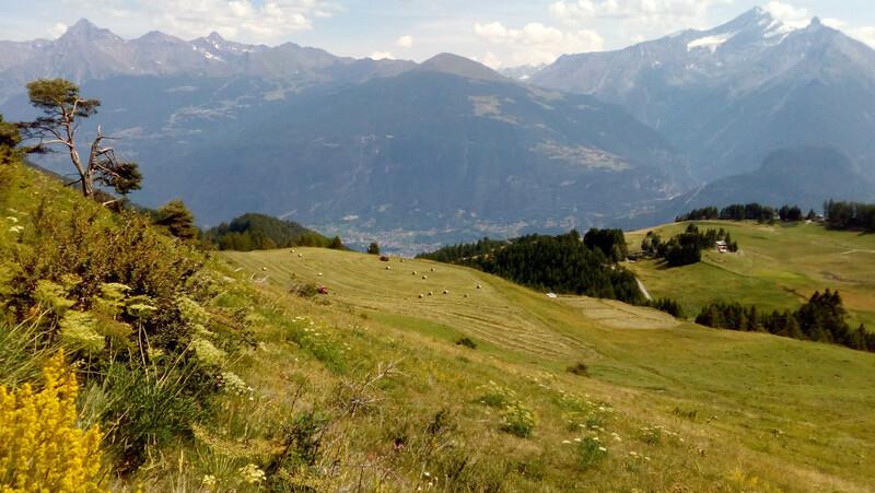 Randonnée au Mont Fallère (1)