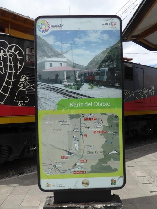 "Train de la ""Nariz del Diablo"" à Alausi"