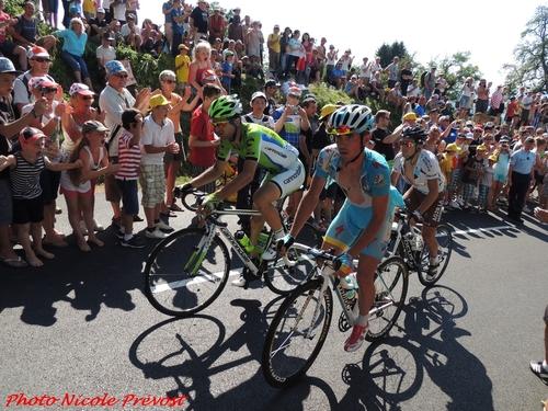 Quelques images du Tour de France 2013, par Nicole Prévost...