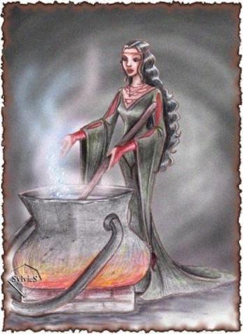 La sorcière.