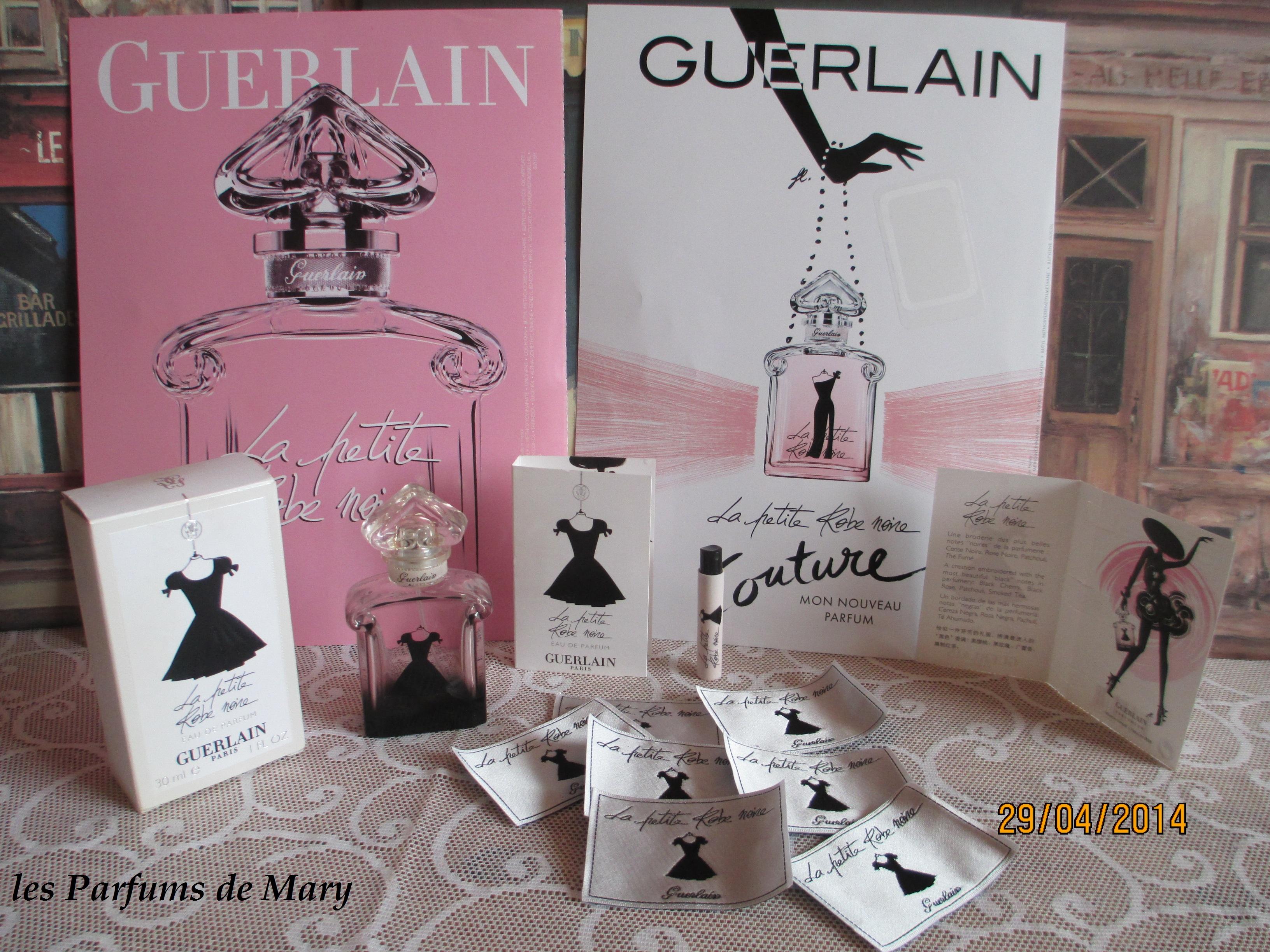 Parfum Ptitez Noire L'étiquette Sur La Robe Le Guerlain CxshdrtQ