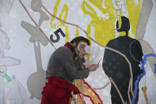 Fresque pour l'école maternelle du Corbusier, Maison Radieuse, Rezé