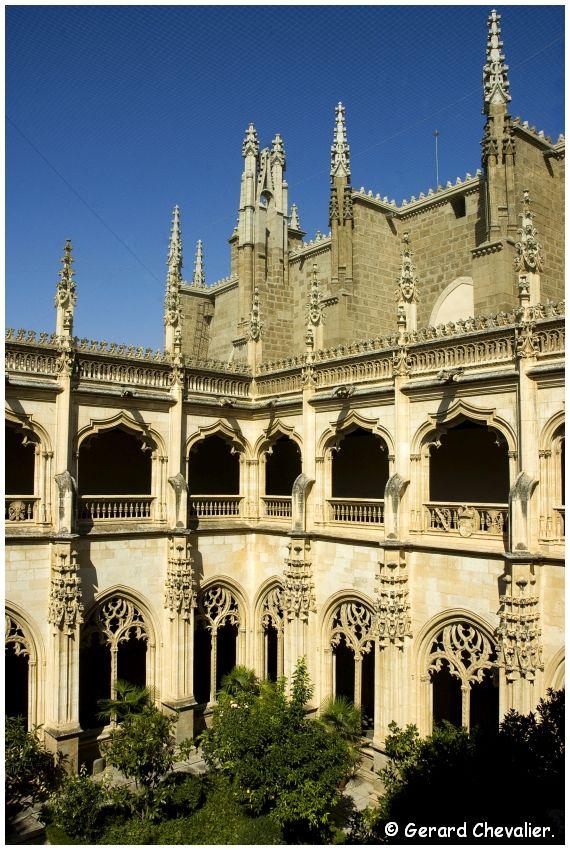 Toledo - Monasterio de San Juan de los Reyes - Le cloitre