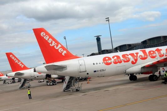 Des avions Easyjet le 29 avril 2013 à l'aéroport de Roissy Charles de Gaulle. (Illustration).