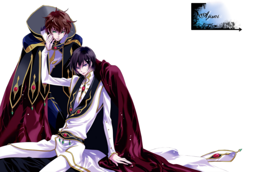 code geass render lelouch clamp suzaku