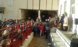 Venue de Petit Cep à l'école élémentaire 29/11/2016