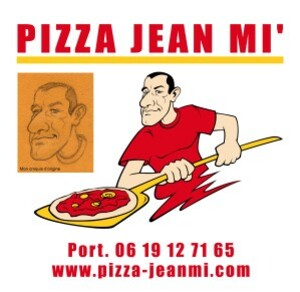 Caricature Pizza Jean Mi
