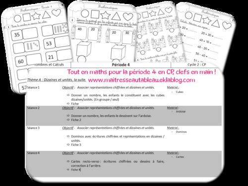 Maths CP - Tout pour la période 4