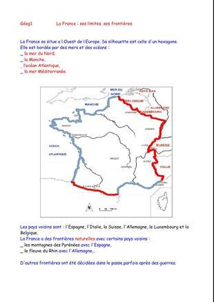 La géographie au CM1 : nouvelle prép