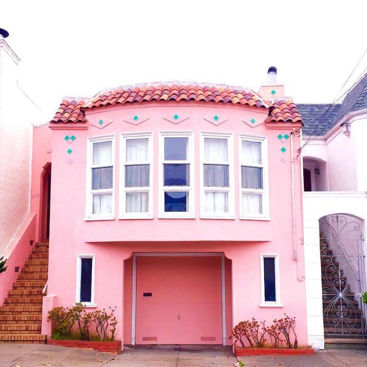 Les-maisons-en-couleurs-de-San-Francisco-6 Les maisons en couleurs de San Francisco