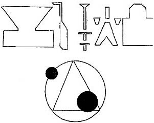 Rendlesham symbols