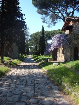 La voie Appienne ...
