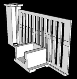 Version 2 - Une maquette de portillon fait maison piloté par Arduino... à imprimer en 3D