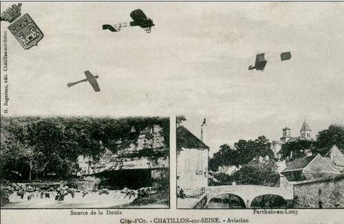 """""""L'épopée aéronautique en Bourgogne et notamment à Châtillon sur Seine"""", une conférence de Jean-Ponsignon"""