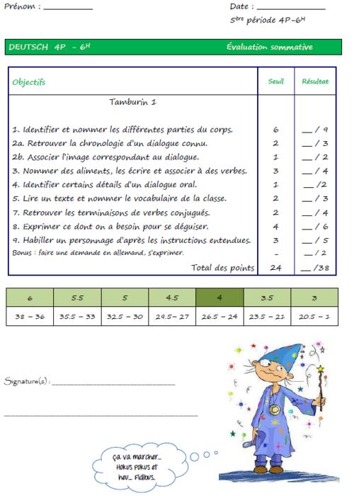 Tamburin leçons 3 à 5