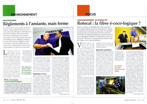 Octobre 2011 - Magazine objectif