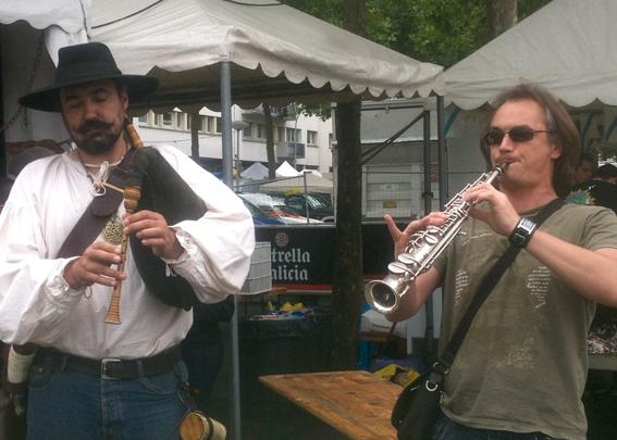 KRACH BUTUN - Duo saxo / veuze, au Fetival Interceltique de Lorient