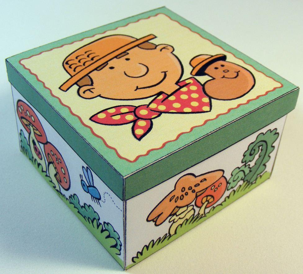 Fabriquer une boite en carton trendy with fabriquer une boite en carton top - Comment peindre une boite en carton ...